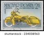 hungary   circa 1985  a stamp... | Shutterstock . vector #234038563