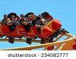 gold coast  aus    nov 06 2014... | Shutterstock . vector #234082777