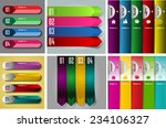 colorful modern text box... | Shutterstock .eps vector #234106327