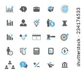 business and finance icon set   Shutterstock .eps vector #234176533