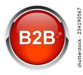 button internet b2b icon | Shutterstock .eps vector #234190567