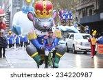 new york city   november 27... | Shutterstock . vector #234220987