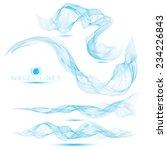set of beautiful blend massive...   Shutterstock .eps vector #234226843