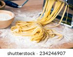 Fresh Pasta And Pasta Machine...