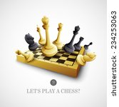Chess. Vector Illustration
