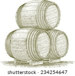 woodcut style illustration of a ... | Shutterstock .eps vector #234254647