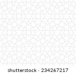 seamless pattern of... | Shutterstock .eps vector #234267217
