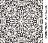 abstract geometric lace vector... | Shutterstock .eps vector #234269887