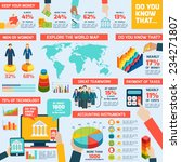 accounting infographics set... | Shutterstock .eps vector #234271807