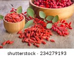 Barberry And Dry Goji Berries...