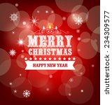 winter background | Shutterstock .eps vector #234309577