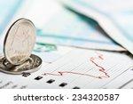 ruble exchange rate on...   Shutterstock . vector #234320587