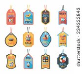 baby tag banner design flat...   Shutterstock .eps vector #234322843