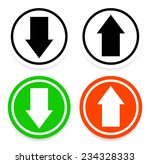 simple yet stylish arrows | Shutterstock .eps vector #234328333