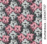 nice floral print | Shutterstock . vector #234347737