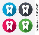broken tooth icon. dental care...   Shutterstock .eps vector #234363847