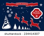 holiday template vector card | Shutterstock .eps vector #234414307