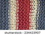 handmade knitting wool texture... | Shutterstock . vector #234423907