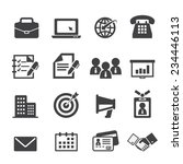 business and office icon | Shutterstock .eps vector #234446113