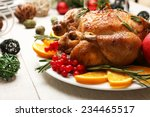 Baked Chicken For Festive...