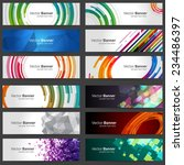 business banners set for... | Shutterstock .eps vector #234486397