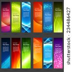 business banners set for... | Shutterstock .eps vector #234486427