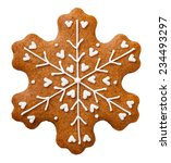 gingerbread cookie for... | Shutterstock . vector #234493297