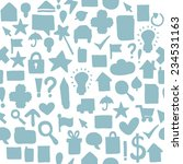 seamless web pattern | Shutterstock .eps vector #234531163