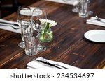 Glasses  Forks  Knives  Napkin...