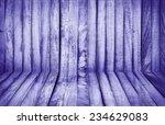 Purple Wall And Floor Siding...