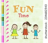 poster  flyer or banner with... | Shutterstock .eps vector #234682543
