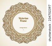 Filigree Vector Frame In...
