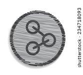 concept network icon | Shutterstock .eps vector #234718093