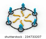 business network | Shutterstock . vector #234733207