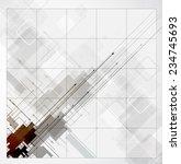 abstract global infinity... | Shutterstock .eps vector #234745693