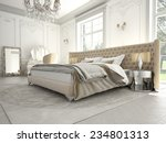 3d rendering.interior of a...   Shutterstock . vector #234801313