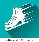ice skate icon  speed concept ... | Shutterstock .eps vector #234852127