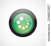 loading glass sign icon green...
