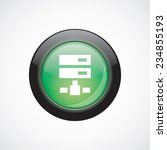 net drive glass sign icon green ...