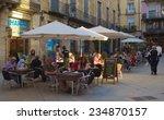 barcelona  spain  october 23 ... | Shutterstock . vector #234870157
