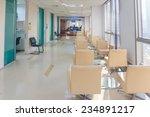 hospital indoor hallway and... | Shutterstock . vector #234891217