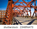 farms metal vehicular and... | Shutterstock . vector #234896473
