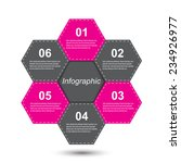 info graphic design template.... | Shutterstock .eps vector #234926977