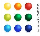 vector graphic illustration set ... | Shutterstock .eps vector #234953593