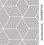 vector seamless pattern. modern ... | Shutterstock .eps vector #234989743