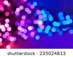 Pink  Purple And Blue Defocus...