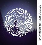 digitally generated happy new...   Shutterstock .eps vector #235026127