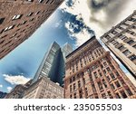new york city. tall skyscrapers ... | Shutterstock . vector #235055503