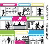 mall | Shutterstock .eps vector #235119043