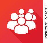 user group network icon. modern ... | Shutterstock .eps vector #235120117
